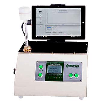 Анализатор температуры помутнения, застывания и кристализации нефтепродуктов ПЭ-7200А